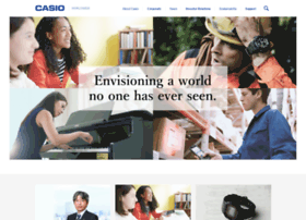 world.casio.com