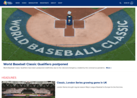 worldbaseballclassic.com