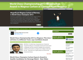 worldchesschampionship2013.com
