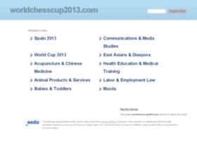 worldchesscup2013.com
