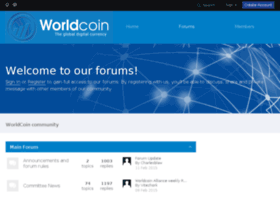 worldcoinforum.org