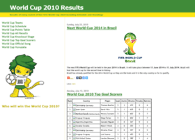 worldcup2010results.blogspot.com