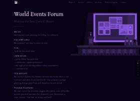 worldeventsforum.com