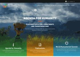 worldhumanitariansummit.org