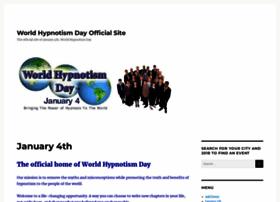 worldhypnotismday.com