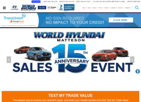 worldhyundaimatteson.com