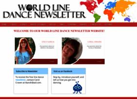 worldlinedancenewsletter.com