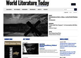 worldliteraturetoday.org