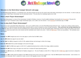 worldminesweepernetwork.com