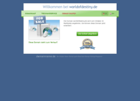 worldofdestiny.de