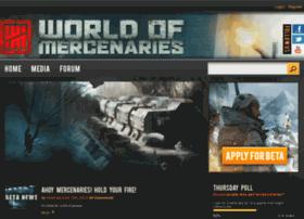 worldofmercenaries.com