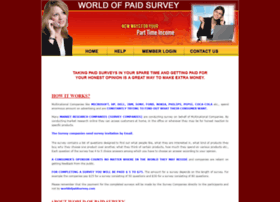 worldofpaidsurveys.com