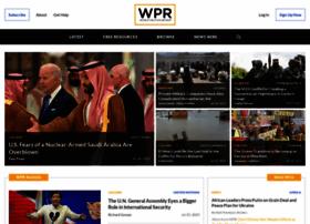 Worldpoliticsreview.com