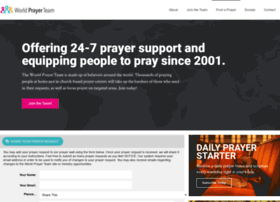 worldprayerteam.org