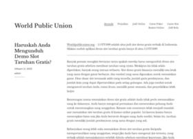 worldpublicunion.org