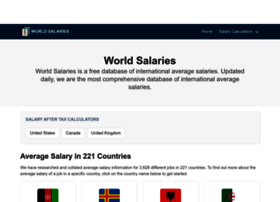 worldsalaries.org