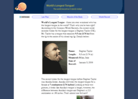 worldslongesttongue.com