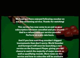 worldsnooker.livesport.tv