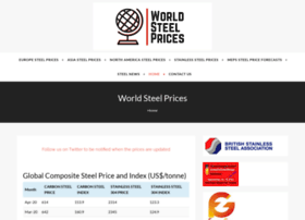 worldsteelprices.com