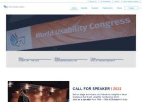 worldusabilitycongress.com