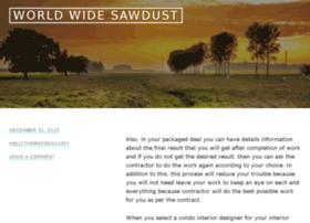 worldwide-sawdust.com