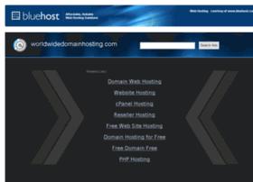 worldwidedomainhosting.com