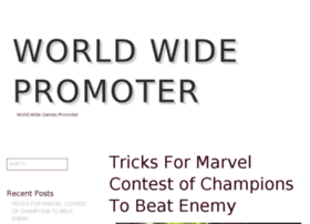 worldwidepromoter.com