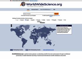 worldwidescience.org