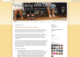 worshipingwithchildren.blogspot.com