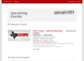 worshipleader.smartevents.com
