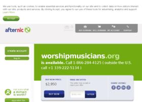 worshipmusicians.org