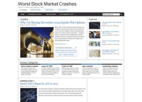 worststockmarketcrashes.com