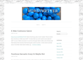 worstwriter.com