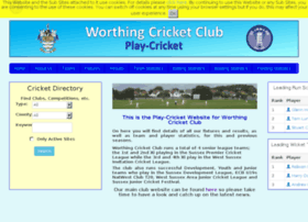 worthing.play-cricket.com