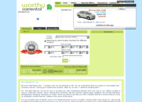 worthycancuncarrental.com