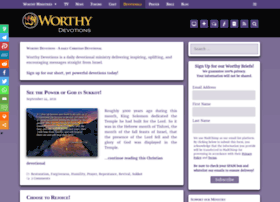 worthydevotions.com
