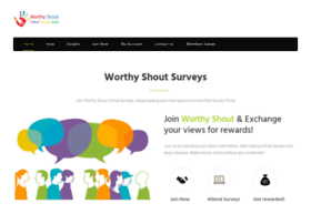 worthyshout.in