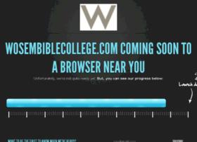 wosembiblecollege.com
