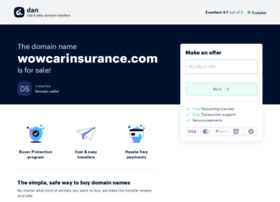 wowcarinsurance.com