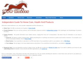 wowhorses.com