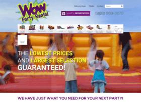 wowpartyrental.com