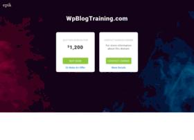 wpblogtraining.com