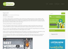 wpmatter.com
