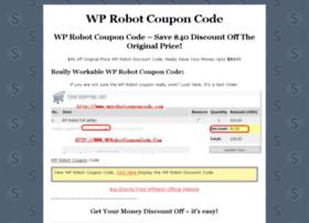 wprobotcouponcode.com