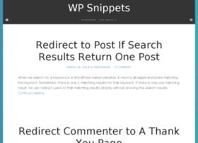 wpsnipp.webtips.in