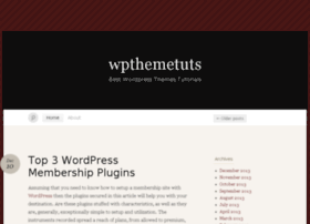 Wpthemetuts.wordpress.com