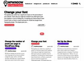 wpwindow.com