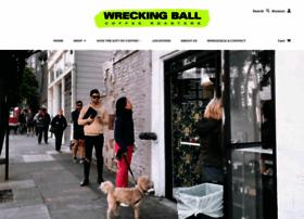 wreckingballcoffee.com