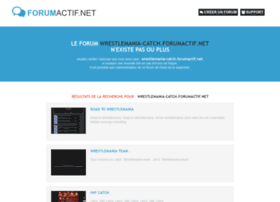 wrestlemania-catch.forumactif.net
