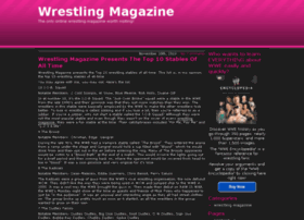 wrestlingmagazine.org